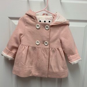 Pink coat for toddler